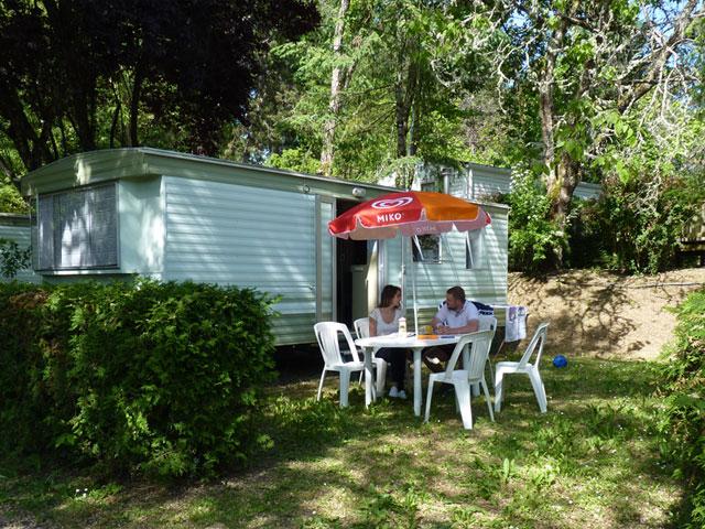 location mobil home dumbo lautrec au camping la butte a la roque gageac en dordogne