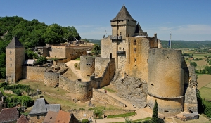 château de castelnaud en Dordogne Périgord noir proche de sarlat