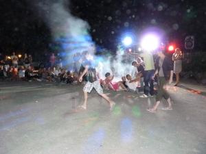 animation soirée disco dansantes au camping la butte a la roque gageac proche de sarlat en perigord noir