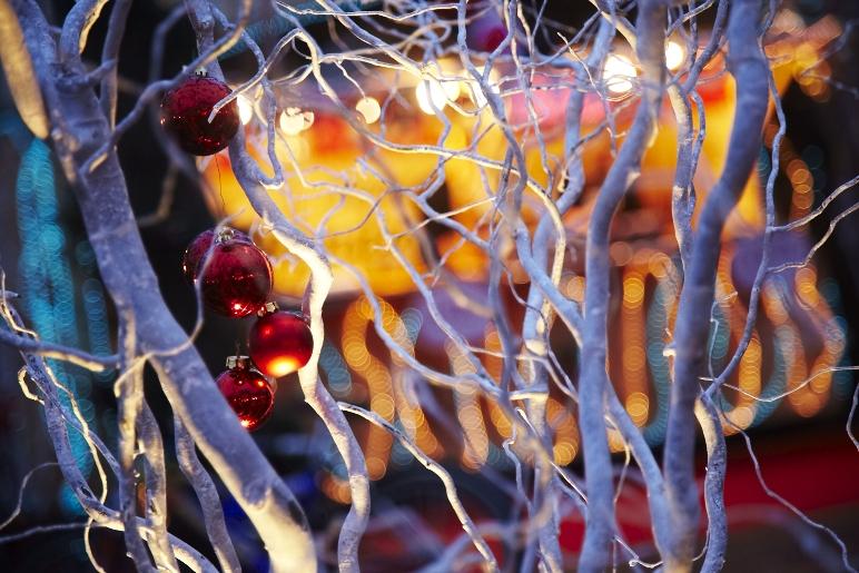 marché de noël dans le Périgord à sarlat prés de la roque gageac