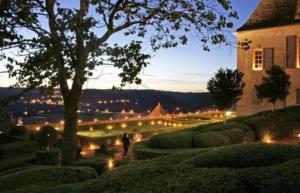 Les jardins de marqueyssac aux chandelles en partant du camping Dordogne la butte