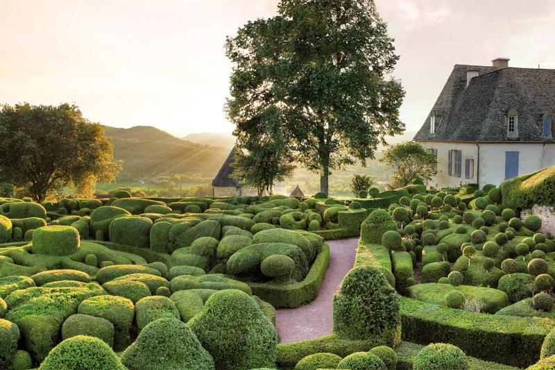 Les jardins de marqueyssac en dordogne perigord pres du camping la butte