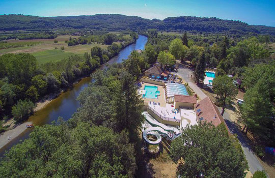 La Butte: 3-star campsite in Dordogne on the riverside in La Roque Gageac