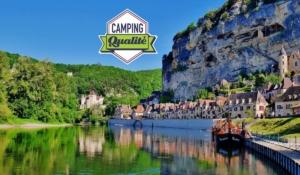 camping en dordogne perigord en bord de riviere a la roque gageac pres de sarlat