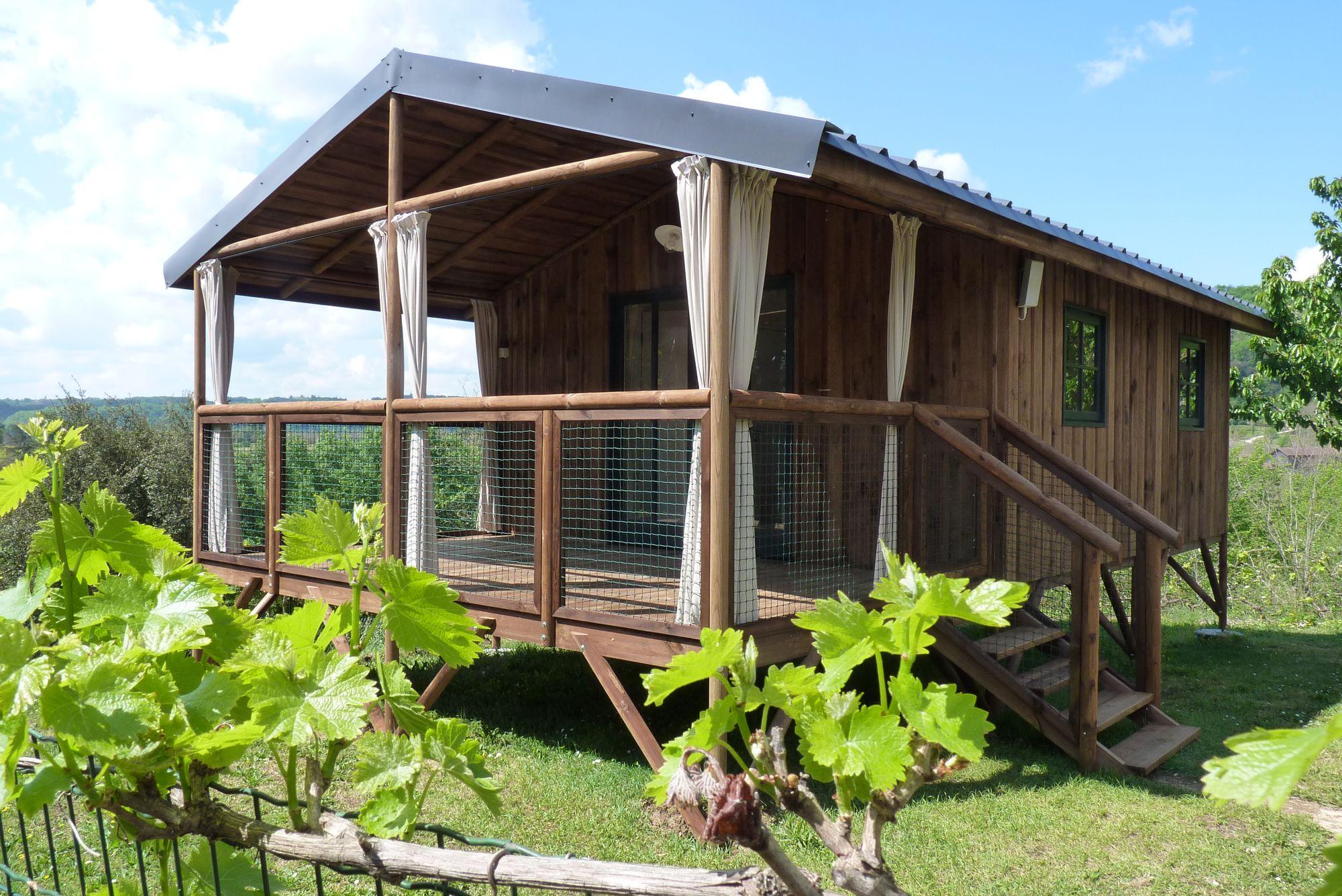 location de cabane en camping dordogne sarlat